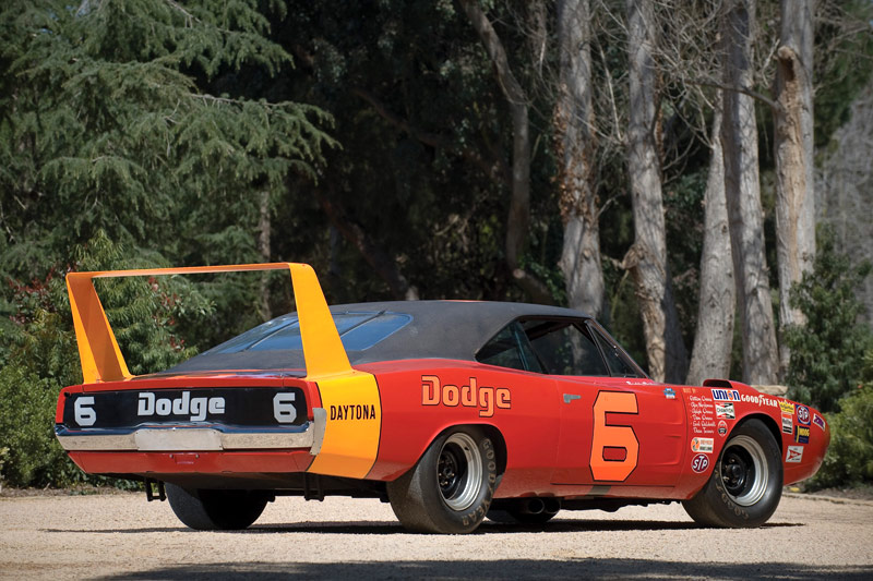 1969 Dodge Charger Daytona NASCAR Race Car-2