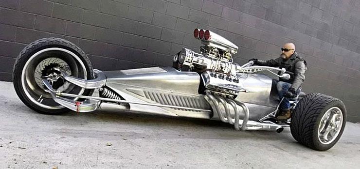 Monster Trike: 1000Hp Hemi V8-Powered 'Rocket II' - ThrottleXtreme