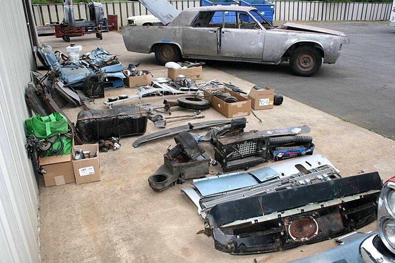 Metalworks 1965 Lincoln Continental restoration