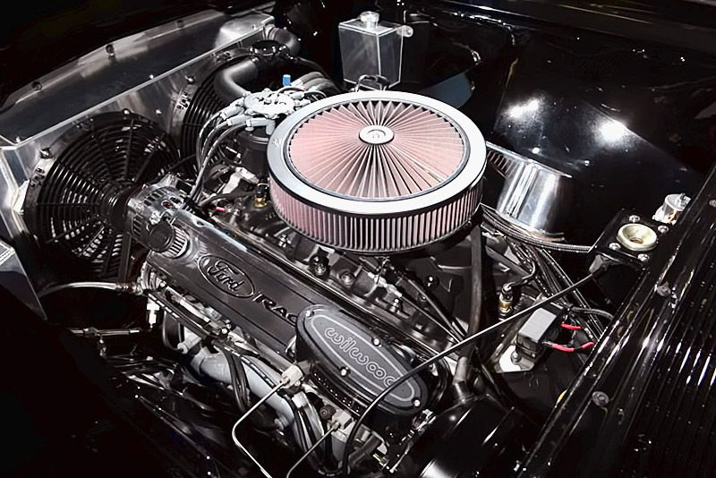 532 cubic inches engine in 1965 Lincoln Continental