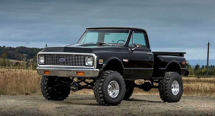 Chevy Silverado Lifted >> HEAVENLY Jon Mannila's 1972 Stepside Chevy Truck - ThrottleXtreme