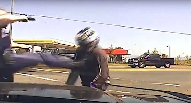 Cop's Excessive Force