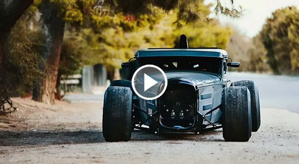 """Unique Hot Rod : """"The Great Depression"""" Ford Model A ..."""