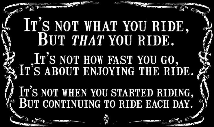 riding a motorcycle quotes