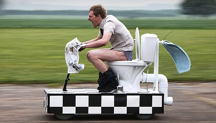 Colin Furze Fastest Toilet