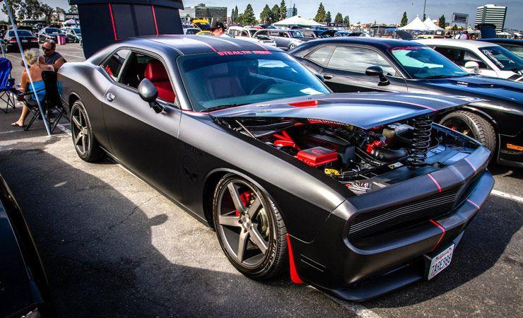 Dodge Challenger nicknamed StealthMode 02