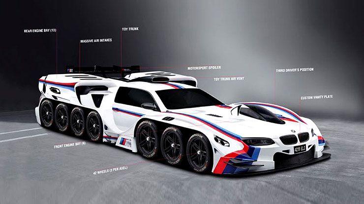 Weirdest Vehicles BMW 4219