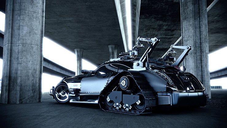 Weirdest Vehicles Maybach Exelero