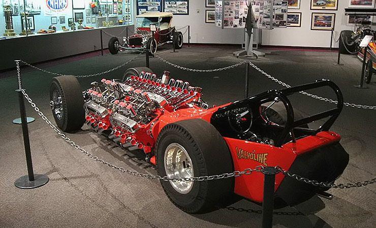 4 Engine Awd Drag-monster
