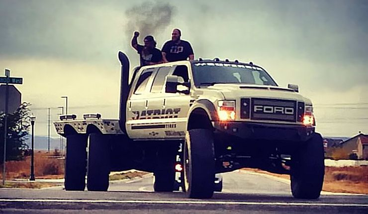 Truck Step Up >> Ford F-550 Heavy D SUPER SIX - 6x6x6 MONSTER!!! - ThrottleXtreme