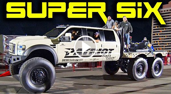 Ford F-550 Heavy D SUPER SIX