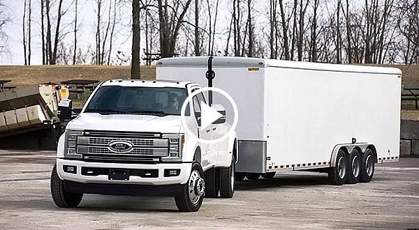 Ford Super Duty Trailer Reverse Guidance feat