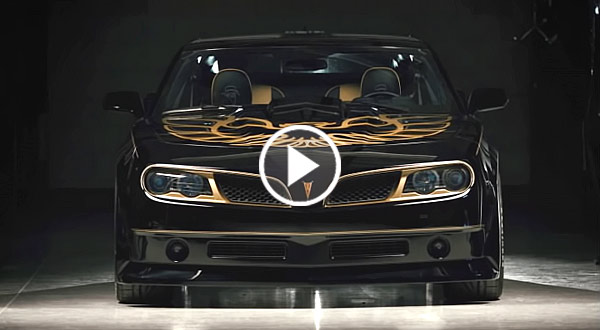 The New 840hp Trans Am Bandit Edition Is Smokin