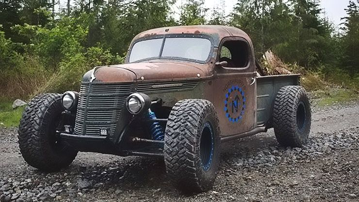 Truck Mud Tires >> A Hot Rod, Rat Rod, Trophy Truck, and Road-Worthy Toy All In One - ThrottleXtreme