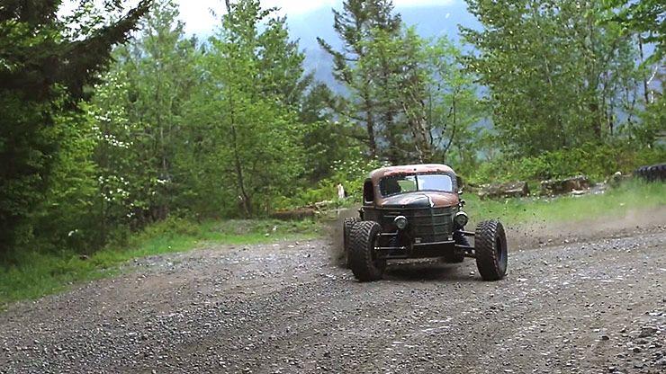 1937 International Trophy Rat Truck