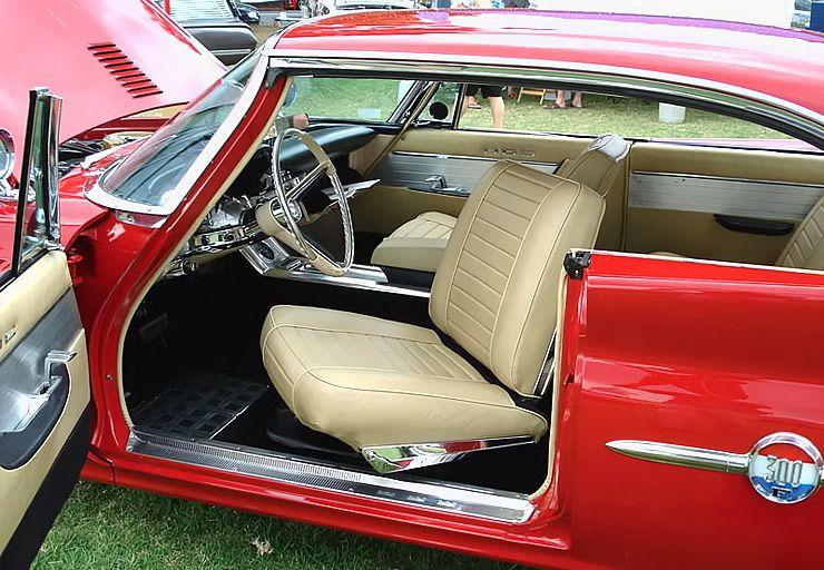 Bildergebnis für The '60 Chrysler 300F-A Continuing Muscle Mystic