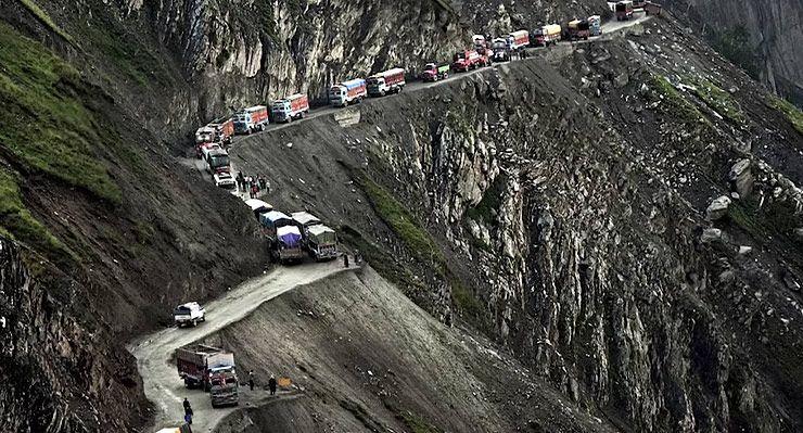 TERRIFYINGLY DANGEROUS ROADS