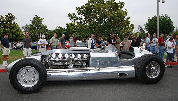 Tank Engine Powered Roadster