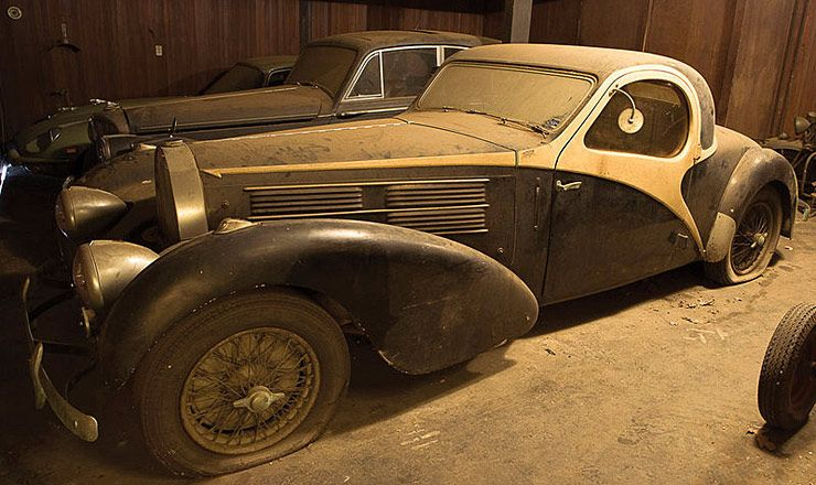 Barnyard 1938 Bugatti Type 57C Atalante