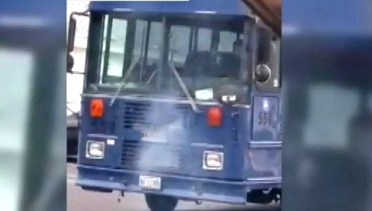 Boy Steal Bus in Bangor