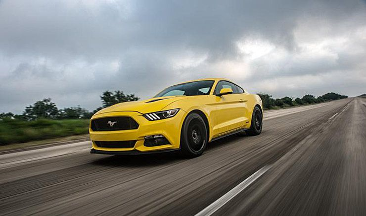 Ford Mustang Transfagarasan Highway
