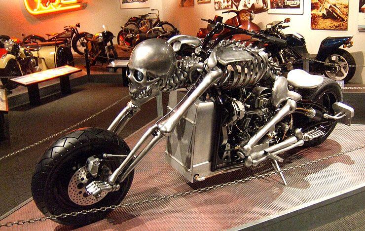 IronDeath Skeleton Bike