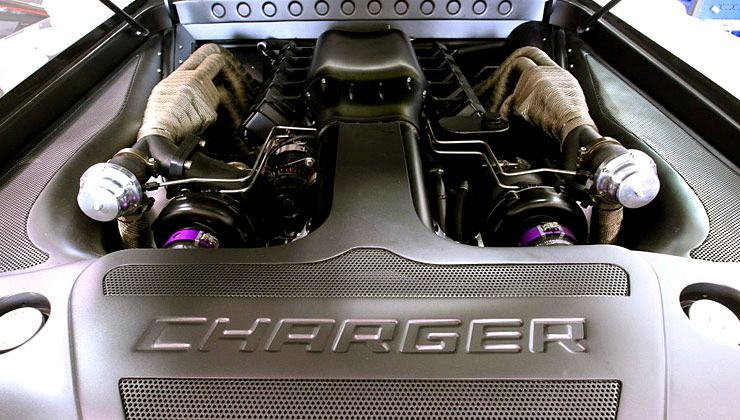 Twin Turbo Dodge Charger