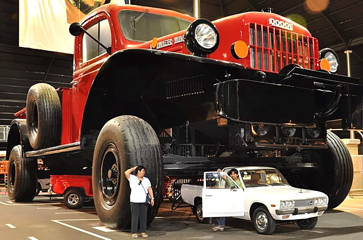 this mind blowing 1950 dodge power wagon is the biggest pickup truck ever made throttlextreme. Black Bedroom Furniture Sets. Home Design Ideas