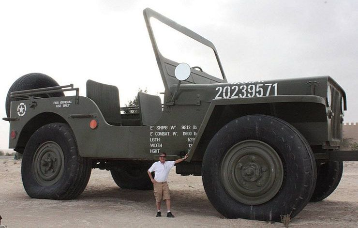 Worlds Largest Jeep