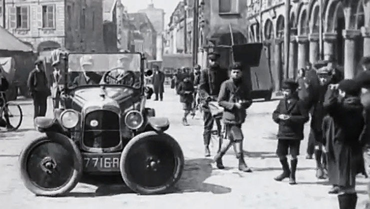 parking assist back in 1927