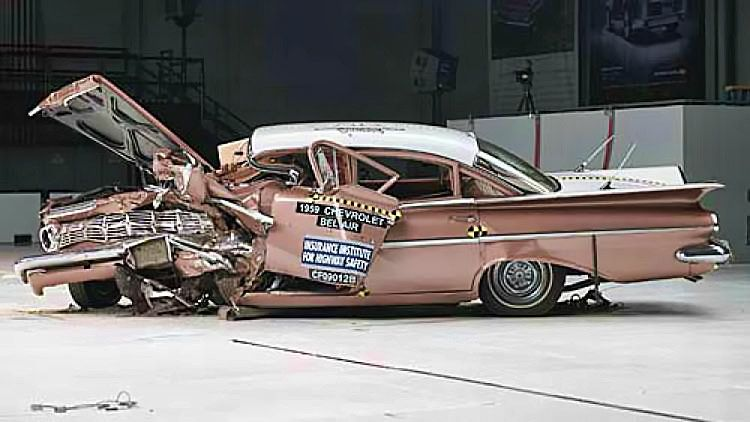 1959 Chevrolet Bel Air Crash Test
