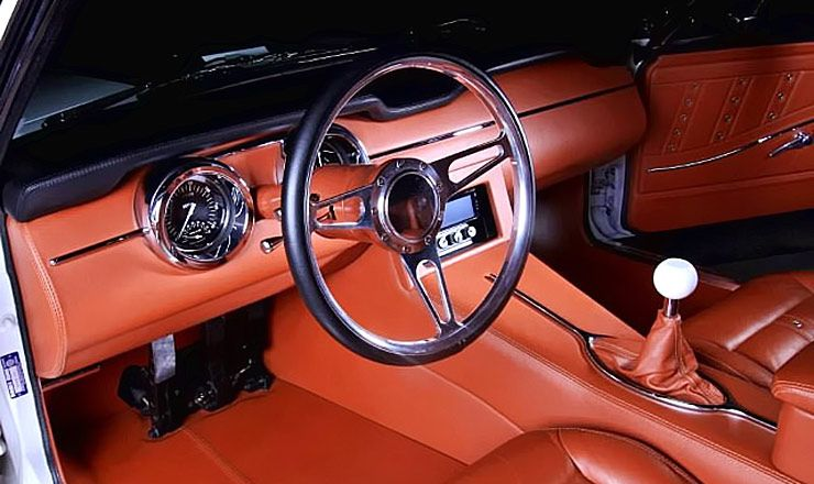 The boss 1968 mustang fastback by kindig it design for Car interior designs