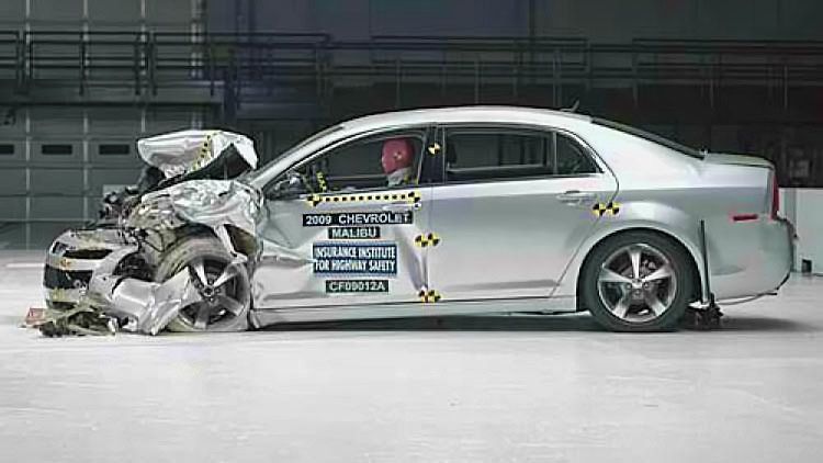 2009 Chevrolet Malibu Crash Test