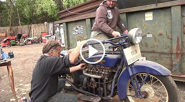 MOTORCYCLE BARN FIND
