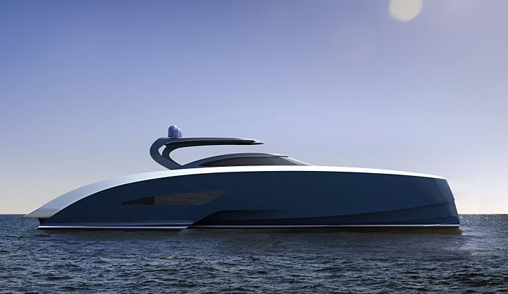 Palmer Johnson and Bugatti Yacht Niniette
