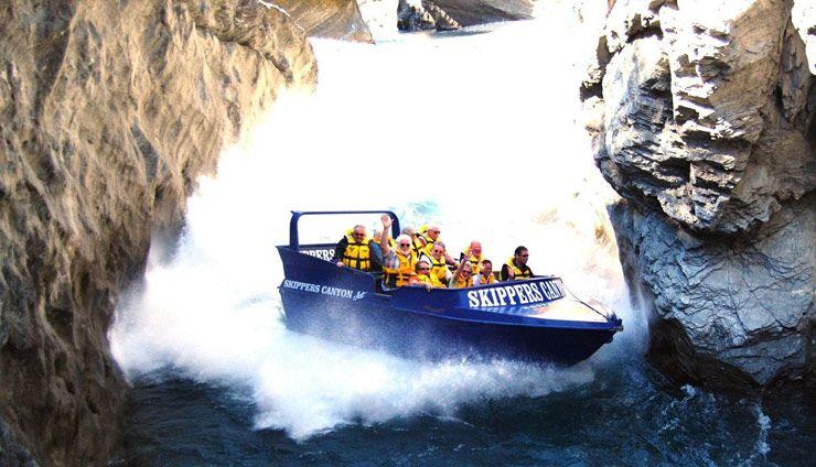 Skipper Canyon Jet Boat