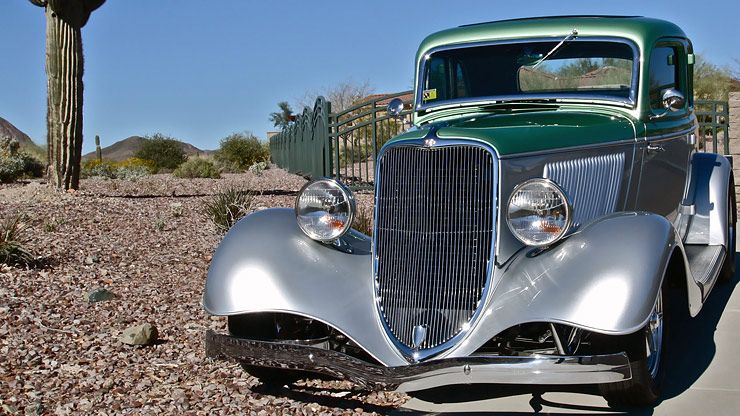 1933 Ford Coupe Rolling Thunder front