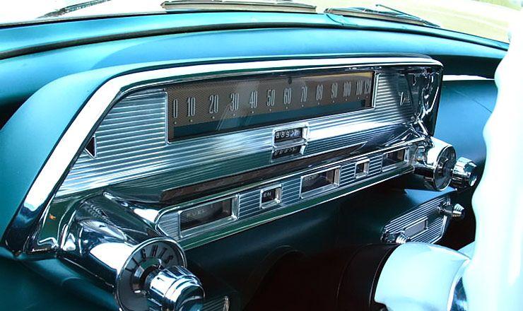 1958 Mercury Monterey Instrument Cluster