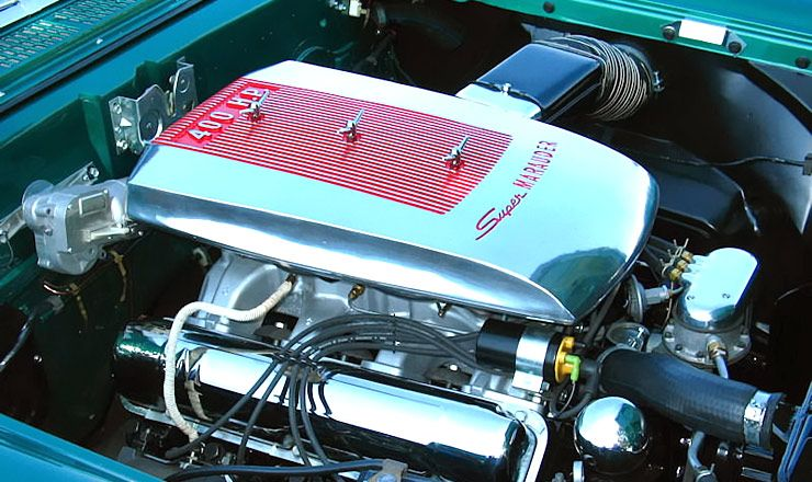 1958 Mercury Monterey Super Marauder Engine  Breather