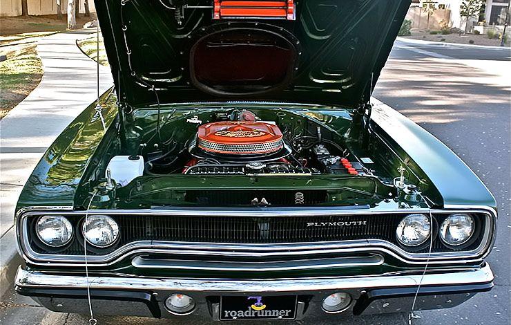 """1970 Plymouth Roadrunner Nicknamed """"Green Hornet"""" - ThrottleXtreme"""