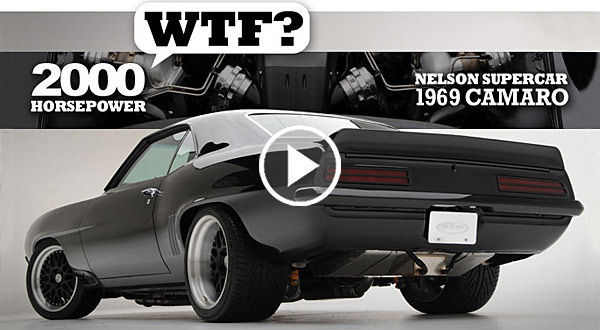 This Earth Shaking 2000 Hp Nelson Racing Camaro Is A