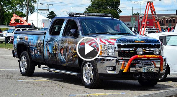 Chevy Silverado 2500HD First Responder Tribute Truck ...