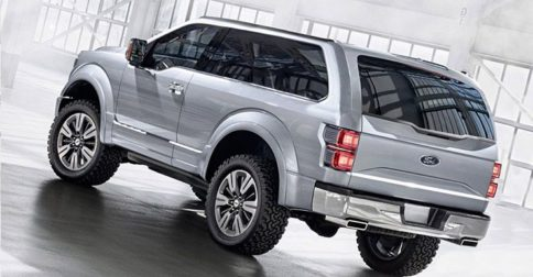 2017 Ford Bronco Front