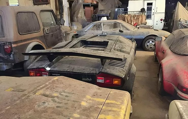 lamborghini-countach-and-porsche-911-speedster-barn-find