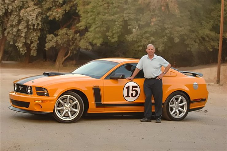 Boss Under Glass Saleen Mustang Parnelli Jones Edition