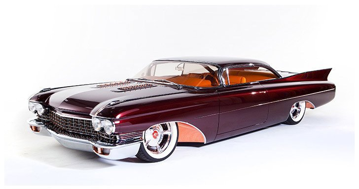 Meet The Copper Caddy Kindig It Design Smokin Hot 1960
