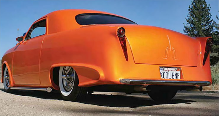 1949 Ford Business Coupe custom left-rear