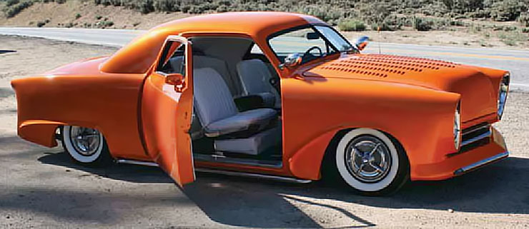 1949 Ford Business Coupe custom right-side