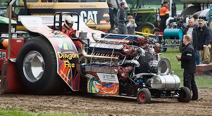 Dragon Fire Tractor