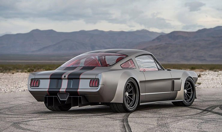 Timeless Kustoms Vicious Mustang